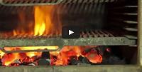 Kopa oven demonstration at Wood Grilll Restaurant
